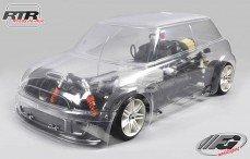 Mini Cooper Sports-Line 4WD-510 RTR, (Transparante Kap)