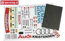 FG4153 Team Stickers Audi A4 Siemens, Set