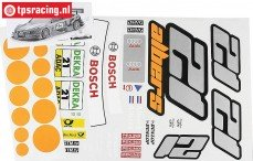 FG4156 Team Stickers Audi A4 Albers, Set