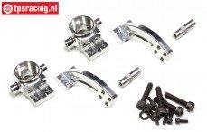 FG4406 Aluminium stuurblokken a-symetrisch 2WD, Set