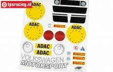 FG5053/01 Stickers VW New Beetle, Set
