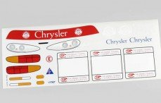 Stickers, (Chrysler Viper Team), Set