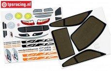 FG5175/01 Stickers Porsche GT3-RSR, Set
