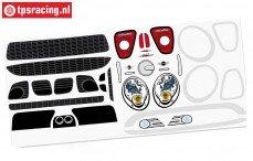 FG5185/01 Stickers MINI Cooper, Set