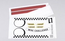 Stickers, (MINI Cooper Team), Set