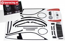 FG5194 Stickers Porsche 911 GT3R, Set