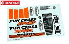 FG6155/02 Stickers Fun Cross, Set