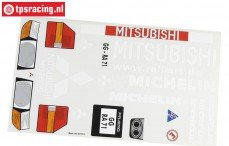 FG6217/01 Stickers, Pajero Buggy, Set