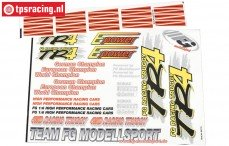 FG64155 Team Stickers TR4 Truggy, Set