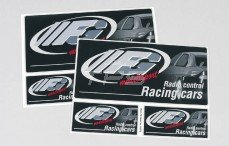 Stickers, (FG Stickers Zwart), Set