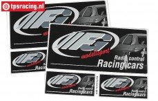 FG6572 FG Stickers zwart, Set