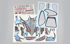 Stickers, (Leopard 4WD RTR), Set