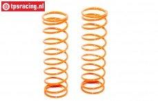 FG67302 Schokdemper veer oranje Ø2,4-L105 mm, 2 St.