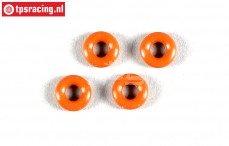 FG67320/16 Schokdemper Siliconen O-ring, Ø3-H2 mm, 4 st