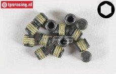 Inbus koploos (M6-L6 mm Loctite), (Staal), 10 St.
