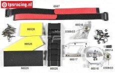 FG68512 Ombouwset Elektro 1/5-1/6, 2WD-4WD, Set