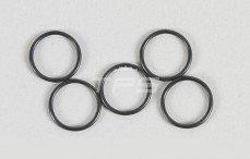 Schokdemper zuiger O-ring, (Ø13-H1,0 mm), (Rubber), 5 St.