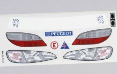 Stickers, (Peugeot 406STW), Set