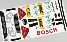 Stickers, (Mercedes C-Klasse DTM), set