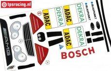 FG7243/01 Stickers Mercedes C-Klasse DTM, set