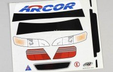 Stickers, (Honda Accord), Set