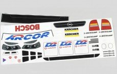 Stickers, (Opel Astra), set