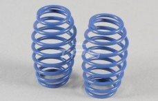 Schokdemper veer progressief (Ø17-Ø25), (Ø2,5 x L53 mm), (Blauw), 2 St.