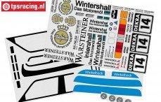 FG8063 Stickers BMW M3 E30, Set