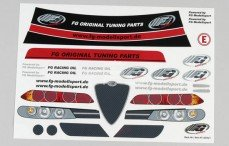 Stickers, (Alfa Romeo 156WTCC), Set