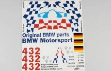 Stickers, (BMW M3 GTR), Set