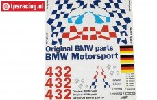 FG8170 Team Stickers BMW M3 GTR, Set