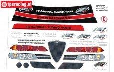FG8079/01 Stickers Alfa Romeo 156WTCC, Set