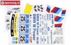 FG8185 Team Stickers BMW ALMS, Set