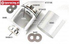 FG8484 Differentieel ombouw naar Aluminium, Set.