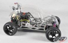 Beetle Buggy WB535 Sports-Line 4WD, (Transparante Kap)