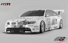 BMW M3 ALMS Sports-Line 4WD-530 RTR, (Transparante Kap)