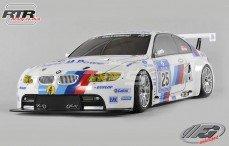 BMW M3 ALMS Sports-Line 4WD-530 RTR, (Gespoten Kap)