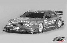 Mercedes CLK-DTM 06 Sports-Line 4WD-530, (Transparante Kap)