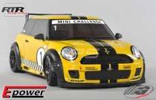 Mini Cooper Sports-Line 4WD RTR 4WD 510E, (Gespoten Kap Geel)