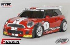 Mini Cooper Sports-Line 4WD RTR 4WD 510E, (Gespoten Kap Rood)