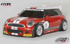 Mini Cooper Sports-Line 4WD-510 RTR, (Gespoten Kap Rood)