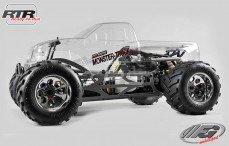 Monster Truck WB535 Sports-Line 4WD RTR, (Transparante Kap)