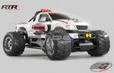 Monster Truck WB535 Sports-Line 4WD RTR, (Witte Kap)