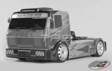 Kap, (FG Street Truck 2WD), (W530-D2,0 mm), (Transparant), Set