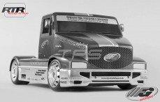 Super Race Truck Sports-Line 2WD-530 RTR, (Transparante Kap)