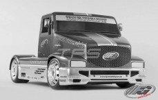 Kap, (FG Super Race Truck), (W530-D2,0 mm), (Transparant), Set