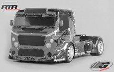 FG Team Truck Sports-Line 2WD-530 RTR, (Transparante Kap)