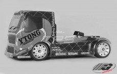 FG Team Truck Sports-Line 2WD-530, (Transparante Kap)
