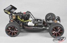 TR4 Truggy WB535 Sports-Line 4WD, (Transparante Kap)