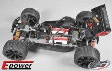 TR4 Truggy WB535E Sports-Line 4WD, (Transparante Kap)